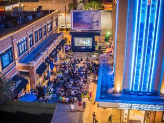 West Village presents South Alley Film Series
