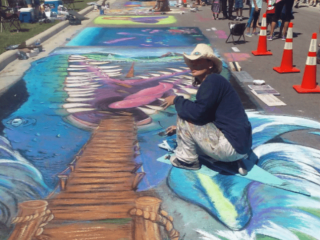Round Rock Arts presents Chalk Walk and Festival