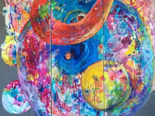 Old Bakery and Emporium presents The Bunkhouse Artists: The Color Wheel opening reception