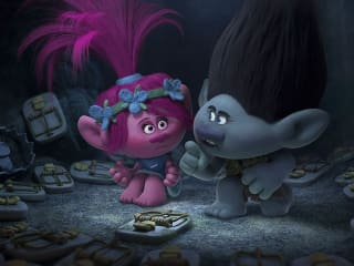 Anna Kendrick and Justin Timberlake in Trolls