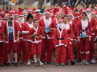 2016 Santa Run Texas