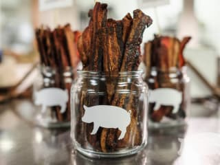 Bacon hog roast Cochon 555 Austin