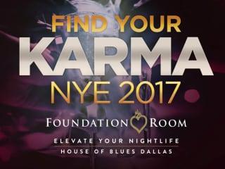 Foundation Room presents NYE 2017