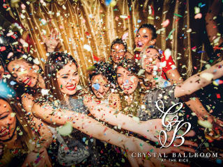 The Crystal Ballroom by Sambuca presents The Crystal Ball New Year's Eve Party