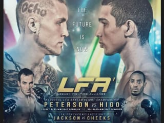 Legacy Fighting Alliance 1: Steven Peterson vs Leandro Higo