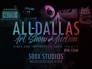 SMJ Gallery presents All-Dallas Art Show & Auction