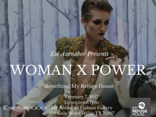 Esé Azénabor presents Woman X Power Fashion Show