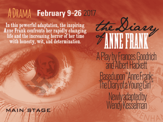 Unity Theatre presents <i>The Diary of Anne Frank</i>