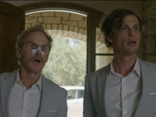 Jere Burns and Matthew Gray Gubler in Hot Air