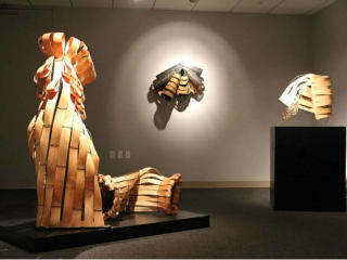 "220 Gallery presents Maria Bordelon: ""Folded Forms"""