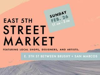 ARO + Passport Vintage presents East 5th Street Market