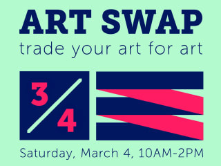 Lawndale Art Center presents Art Swap