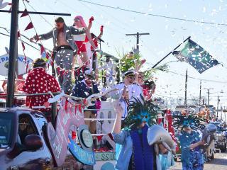 Oak Cliff Mardi Gras Parade