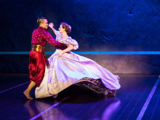 Jose Llana and Laura Michelle Kelly in The King and I