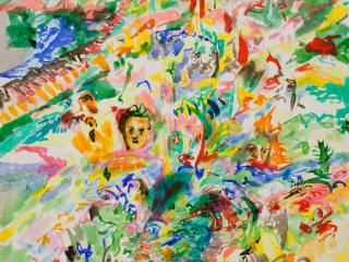 Bivins Gallery presents Jack Whitten: Earlier Works