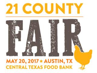 Central Texas Food Bank presents 21 County Fair