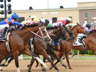 Horse racing at Lone Star Park