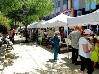Market Street 2-15 Spring Fine Arts Show