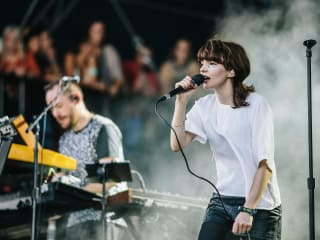 Austin City Limits Festival ACL Fest 2014 Weekend Two CHVRCHES