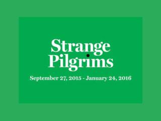 The Visual Arts Center presents Opening Reception: Strange Pilgrims