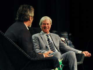 Ben Crenshaw, David Feherty, Living Legends Luncheon