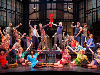 Fran Macferran Tony Awards Predictions June 2013 The cast of Kinky Boots