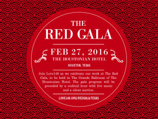 Love 146 presents The Red Gala 2016
