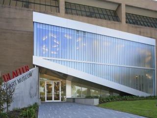 Blaffer Art Museum exterior place