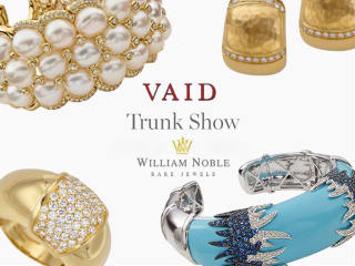 William Noble Trunk Show with VAID