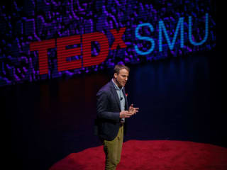 Ben McAllister at TEDxSMU 2014