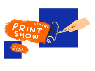 High School for the Performing and Visual Arts Art Guild Print Show 2016
