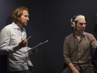 Daniel Ferguson and Benedict Cumberbatch