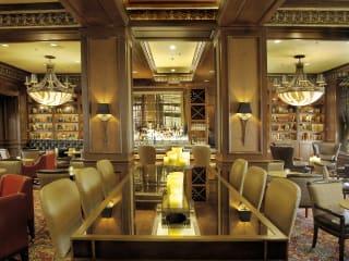 Library Bar at the Warwick Melrose Hotel Dallas