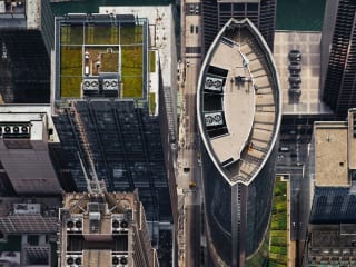 111 South Wacker (from above, looking West) - Chicago, IL  July 2013 by Brad Temkin
