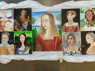 The Girls' School of Austin Self Portrait Show: Our Renaissance Here and Now