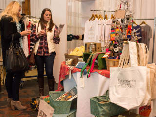 Gypsy Wagon at CultureMap Holiday Pop-up Shop 2014