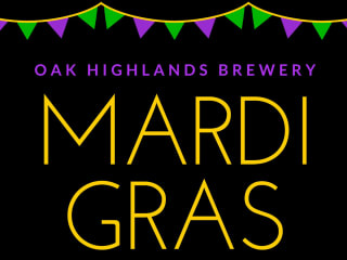 Mardi Gras at Oak Highlands Brewery