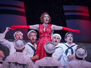 Daron Cockerell in Lyric Stage's Anything Goes