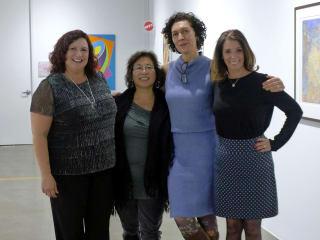 Visual Arts Alliance presents Ana Archer, Kyong Burke, Lorena Morales and Kelyne Reis