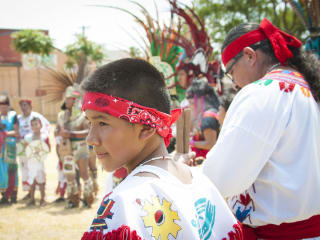 Danza Azteca, 2015 Translation Vickery Meadow