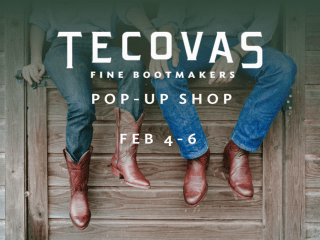 Tecovas Boots Pop-up Shop