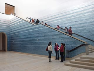 Austin Photo: Places_Arts_Blanton_Museum_Stairway
