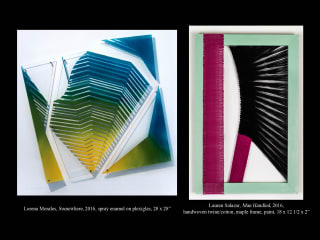 Hooks-Epstein Galleries presents Lorena Morales and Lauren Salazar