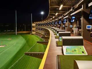 TopGolf Austin located at the Doman