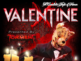 poster for Valentine X at House of Torment