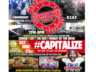 Capitalize Day Party
