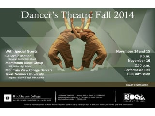 Brookhaven College presents Dancer's Theatre