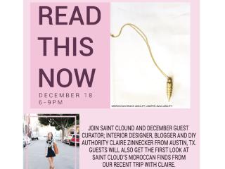 Saint Cloud hosts designer Claire Zinnecker