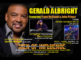 Gerald Albright, Frank McComb, & John Primer Salute James Brown and BB King