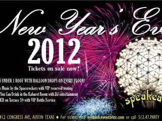 Austin Photo Set: Events_NewYears_Speakeasy_Dec2012